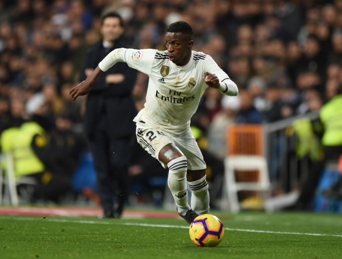 Vinicius Junior hjá Real Madrid.